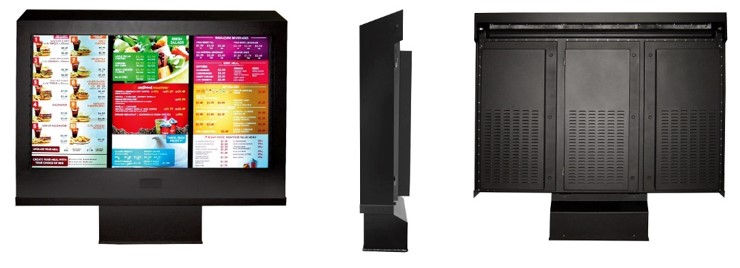ViewStation_QSR_Fan_Cooled_Outdoor_Digital_Menu_Board