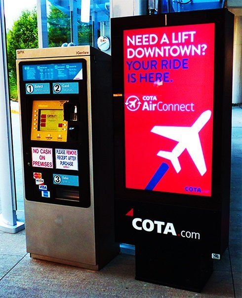 COTA - John Glenn Columbus International Airport - ViewStation ITSENCLOSURES outdoor lcd enclosure.jpg