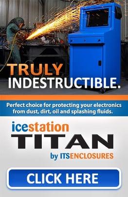 IceStation TITAN Banner ITSENCLOSURES pc computer enclosure