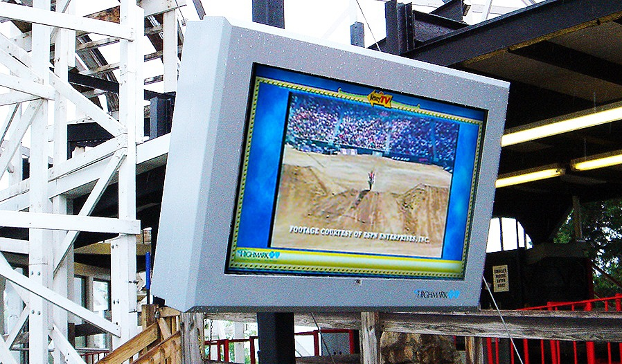 Kennywood Park - ViewStation ITSENCLOSURES LCD Enclosure Digital Signage.jpg