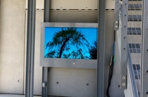 Whitney Museum Outdoor LCD Enclosure by ITSENCLOSURES