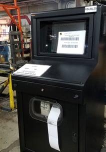Overhead Door Case Study -- IceStation TITAN Computer Enclosures - Black Poweder Coat