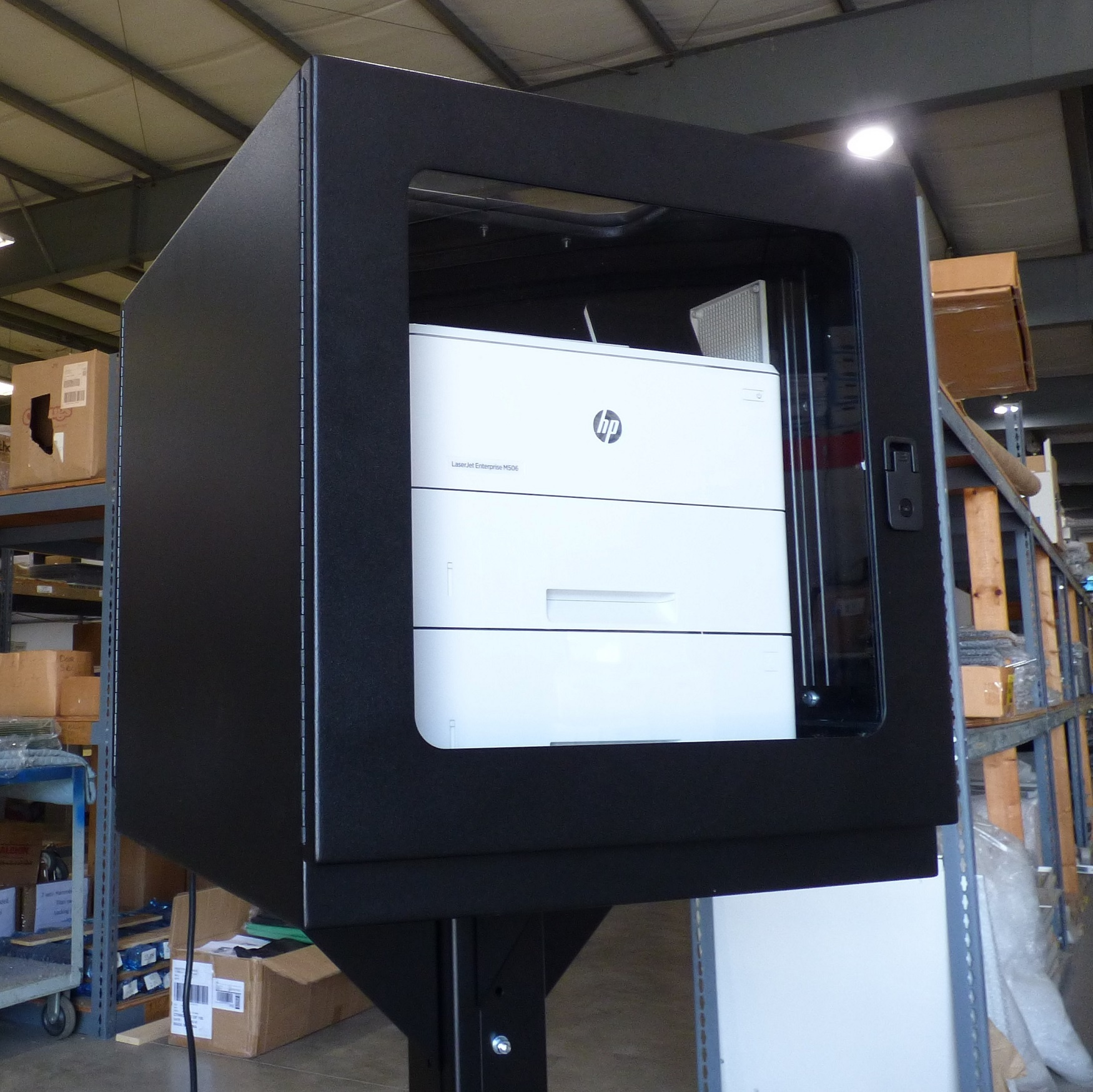 PB262426-12 Printer Box Enclosure with HP Printer IceStation ITSENCLOSURES