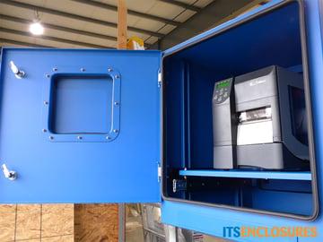 PB282626-04-NEMA-4-Printer-Enclosure-Printer-Cabinet-IceStation-ITSENCLOSURES-front-door
