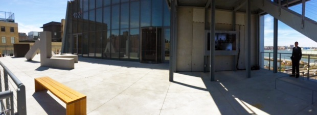 Outdoor LCD Enclosure by ITSENCLOSURES installed at Whitney Museum