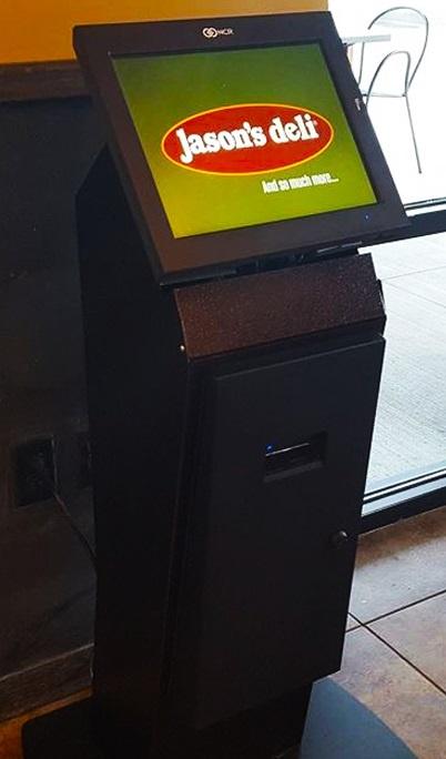 jasons deli salad bar kiosk by ITSENCLOSURES