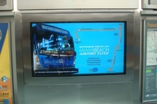 Miami DADE Transit LCD Enclosures by ITSENCLOSURES