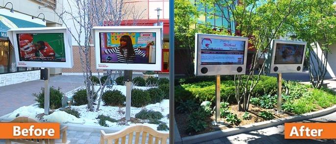 Outdoor LCD Enclosures by ITSENCLOSURES