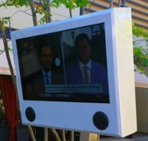 Mall at Partridge Creek Outdoor LCD Enclosure by ITSENCLOSURES